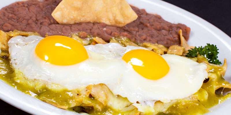 Chilaquiles Suizos – Chicken