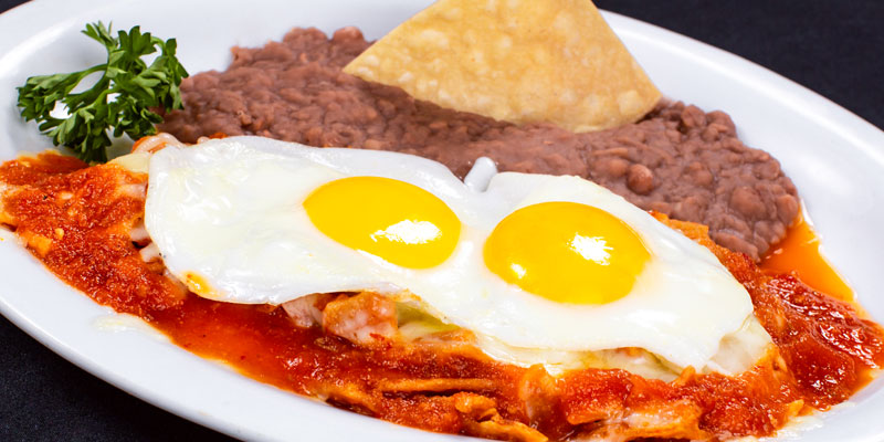 Chilaquiles Rancheros – Chicken
