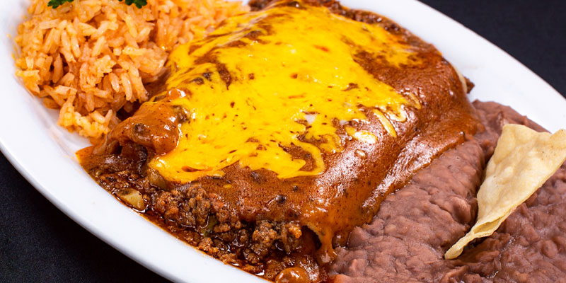 Chicken or Beef Enchiladas